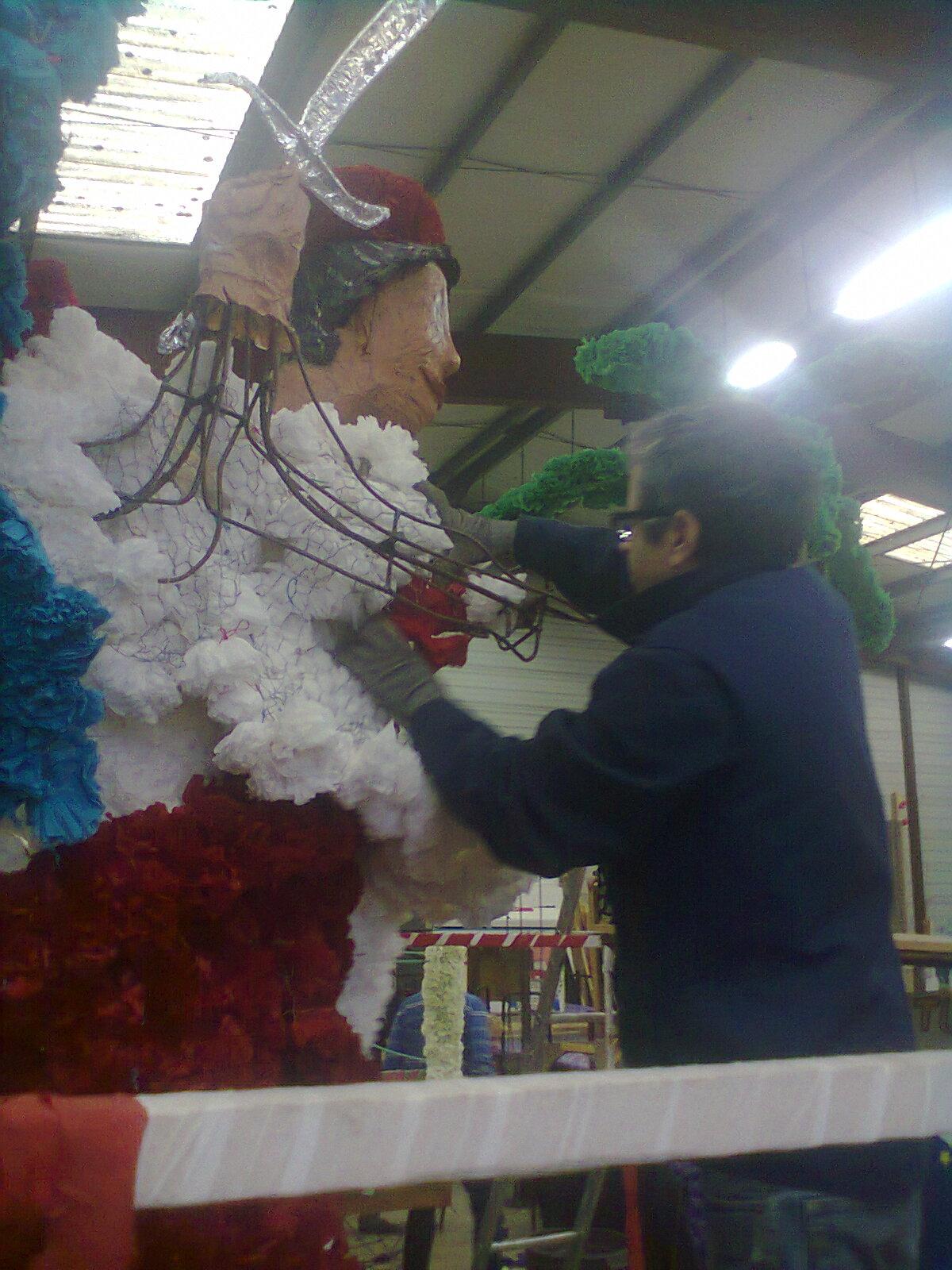 la carnaval  international d'Argenteuil, les tunisiens toujours fidèles au poste