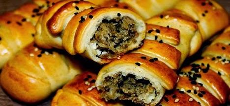 Les recettes du ramdhan:  Petits pain à la viande hachée