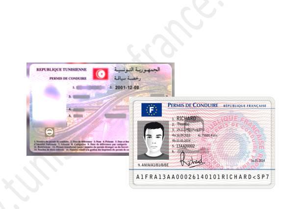 Conduire avec un permis tunisien ou étranger en France