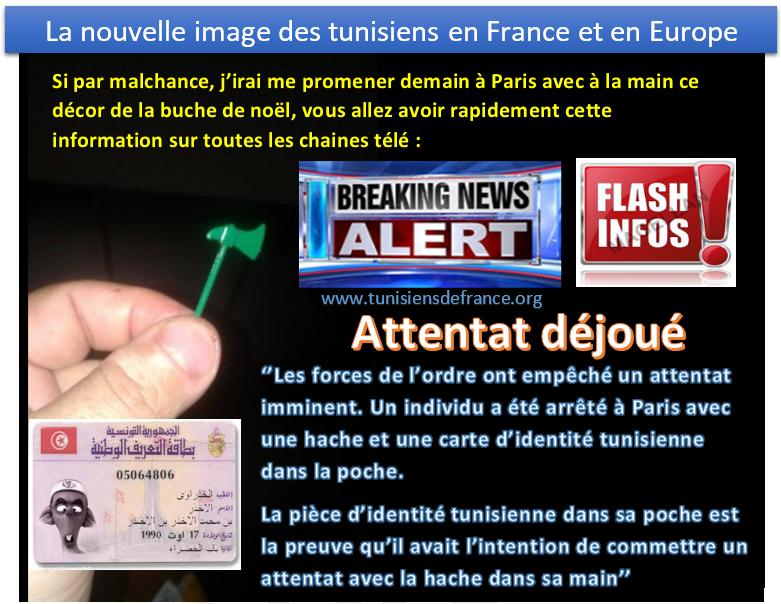 Découvrez la nouvelle image des tunisiens en France et en Europe
